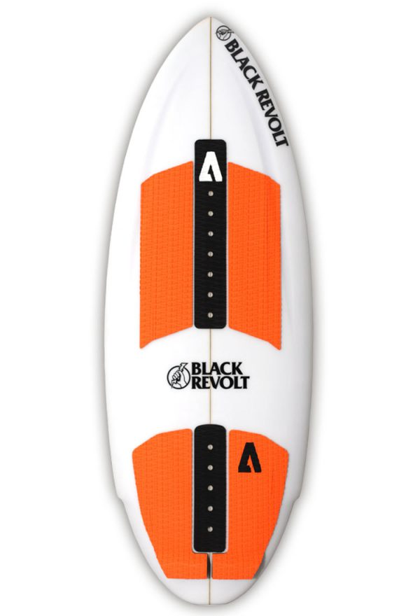 Black Revolt Hatchet wakesurf board