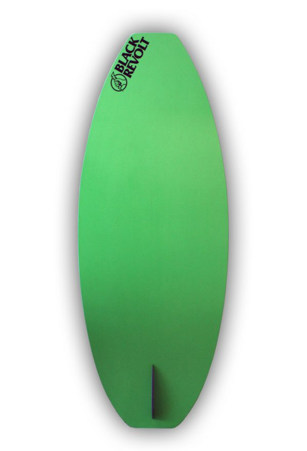 black revolt cutlass skim carbone dessous vert 4'5