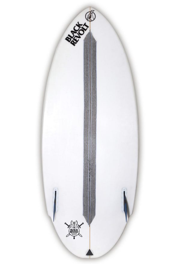 Black Revolt Hatchet wakesurf board